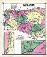 Lebanon, New Hampton, Changewater, Hunterdon County 1873